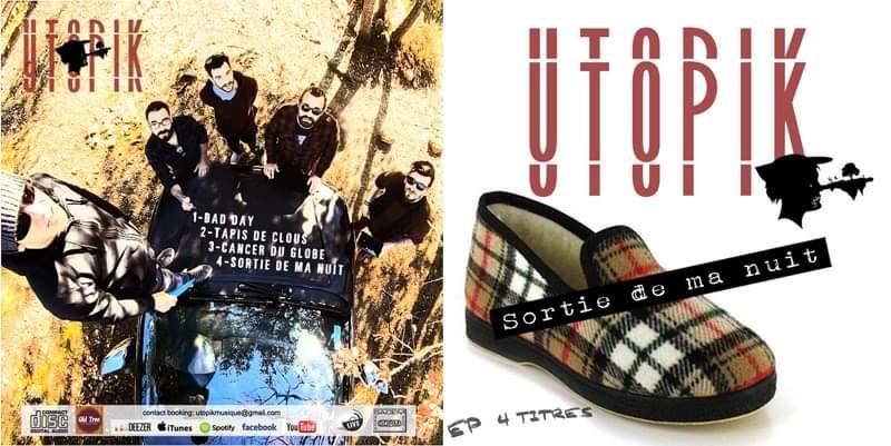 Album UtopiK – Sortie de ma nuit