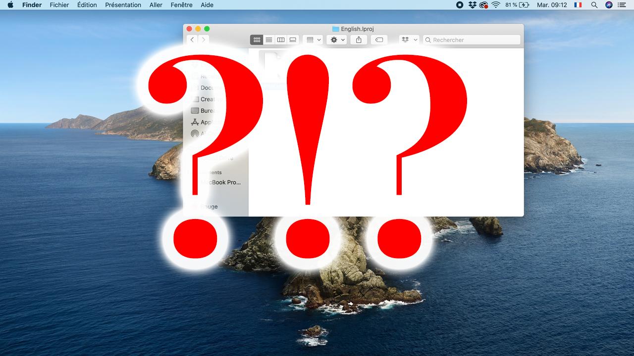J'ai découvert un truc de fou en fouillant dans mon Macbook pro !